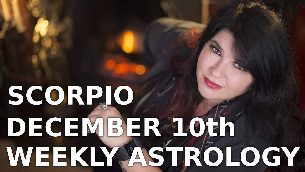 The week ahead for scorpio