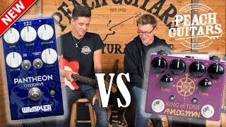 NEW Wampler Pantheon VS King of Tone - How close does it get?