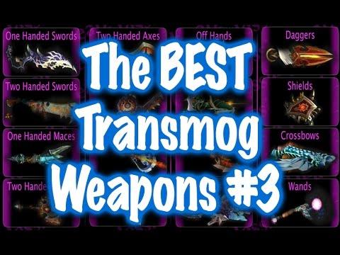 Jessiehealz - Weapon Transmog Selection #3 (World Of Warcraft)