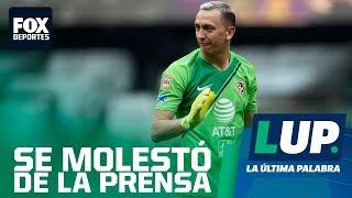 LUP: Agustín Marchesín habló fuerte ante la prensa