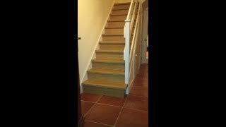 Quick-step Stair Renovation Dublin,incizo 5in1,quick-step Laminate Stair Profile Incizo 5in1