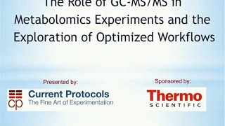 The Role of GC-MS/MS in Metabolomics Experiments and the Exploration of Optimized Workflows