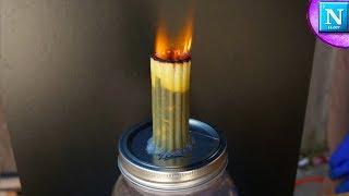Pasta Jumbo Jet Experiment