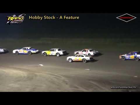 Hobby Stock Features - Rapid Speedway - 8/31/18