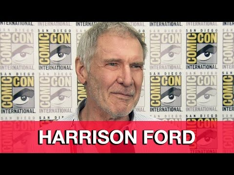 Star Wars The Force Awakens Interview - Harrison Ford