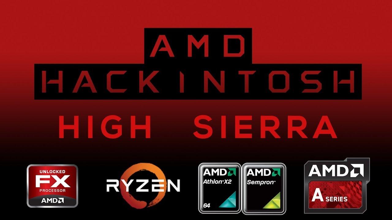 Install High Sierra on AMD using AMDHS_Installer v1 [ MacOS / Windows ]
