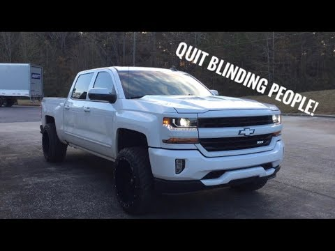 How To Adjust Headlights On 2017 Silverado >> How to adjust headlights - 2016-2018 Silverado - YouTube