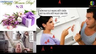 Chuyện cười 8/3 - Hài hước ngày quốc tế phụ nữ - truyện cười vỡ bụng