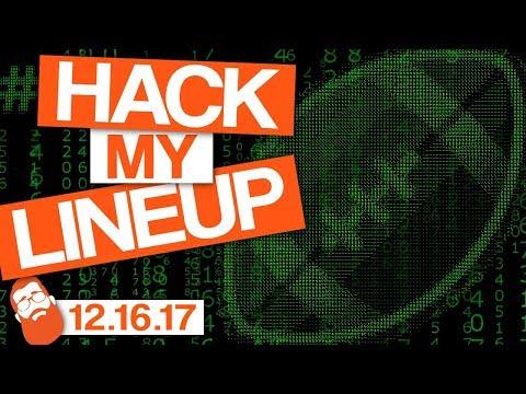 Fantasy Football Week 15 #HackMyLineup and Q&A