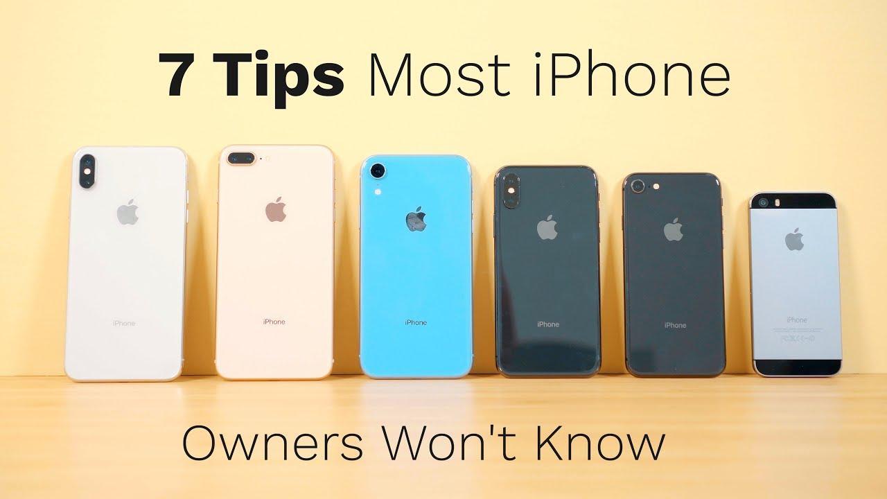 7tipsiphone iphonexs tipsandtricks [ 1280 x 720 Pixel ]
