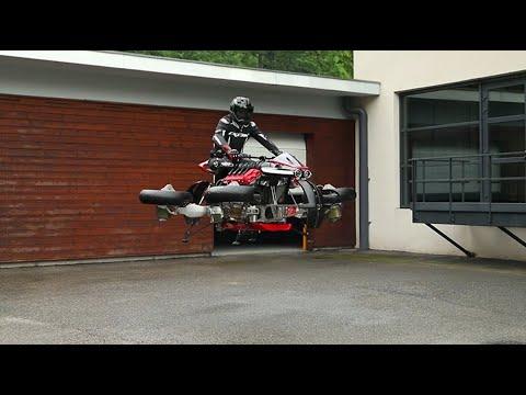 "Lazareth LMV 496 - Episode 3 - ""La Moto Volante"" - Flying Bike"