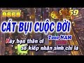 Karaoke Cát Bụi Cuộc Đời | Tone Nam | Nhạc sống LA STUDIO | Karaoke 9669 thumbnail