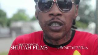 Beyond The Scenes Vybz Kartel Ft Tiana, GWhizz, Mr Pepper & More (Lion Path/OutAroad.com) JUNE 2011