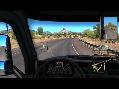 American Truck Simulator|Musical road in Route 66