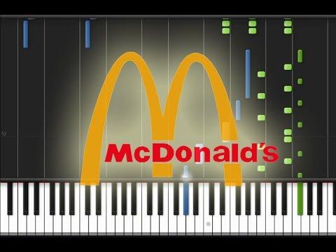 McDonald's (Para-pa-pa-pam, I'm Lovin' It) Piano Cover [Synthesia Piano Tutorial]
