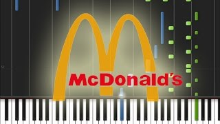 McDonald's (Para-pa-pa-pam, I'm Lovin' It) Piano Cover [Synthesia Piano Tutorial] Resimi