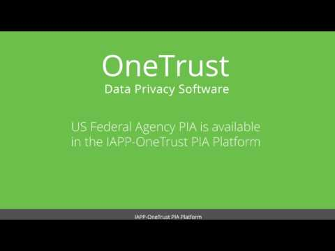 IAPP-OneTrust's U.S. Federal Agency Privacy Impact Assessment Demo