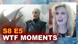 Game of Thrones Season 8 Episode 5 REVIEW & REACTION