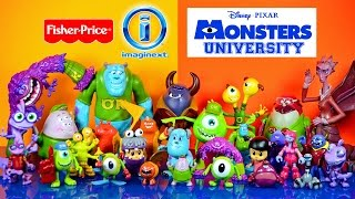 Imaginext Monsters University Disney Pixar With Mike Sulley & Randy Fisher-Price