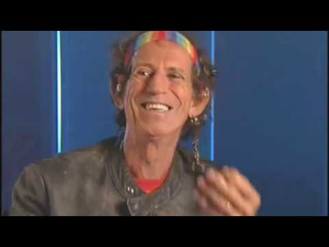 Keith Richards - About George Harrison (and his 'thin' guitar sound)