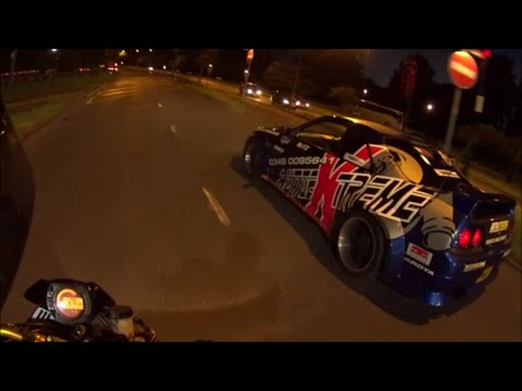 RIDING WITH THE AUTO EXTREME SKYLINE R33