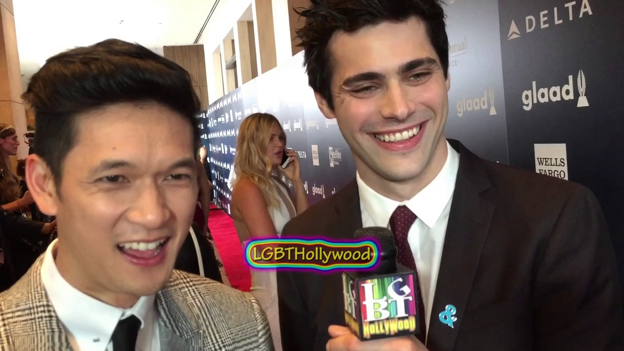 harry shum jr and matthew daddario tumblr