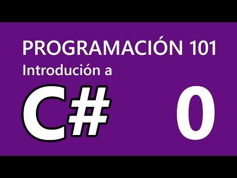 Lección 0: Introducción, herramientas y Hello World | PROGRAMACIÓN 101