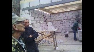 Строительство гаража в Броварах от фундамента до кровли. #Бровары #строительство #гараж(, 2016-03-15T09:24:56.000Z)