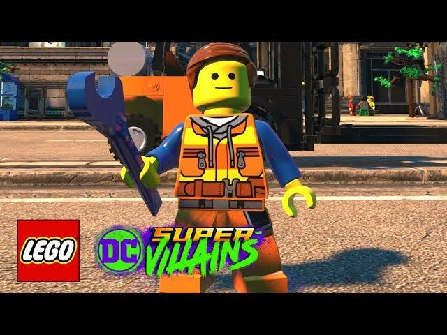 LEGO DC Super-Villains - How To Make Emmet Brickowski (The LEGO Movie 2: The Second Part)