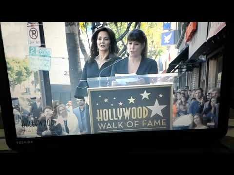Lynda Carter Receiving Her Star on the Hollywood Walk of Fame April 3, 2018 Wonder Woman