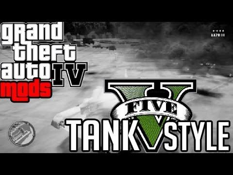 GTA IV MODS - Tank V Style