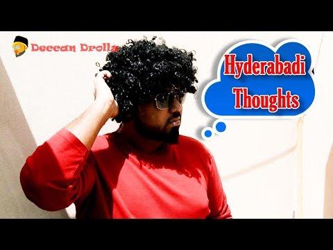 Hyderabadi thoughts     Deccan Drollz    hyderabadi comedy