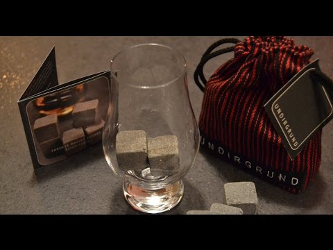 Undirgrund; Geologists develop high-quality basalt cubes; whisky-rocks