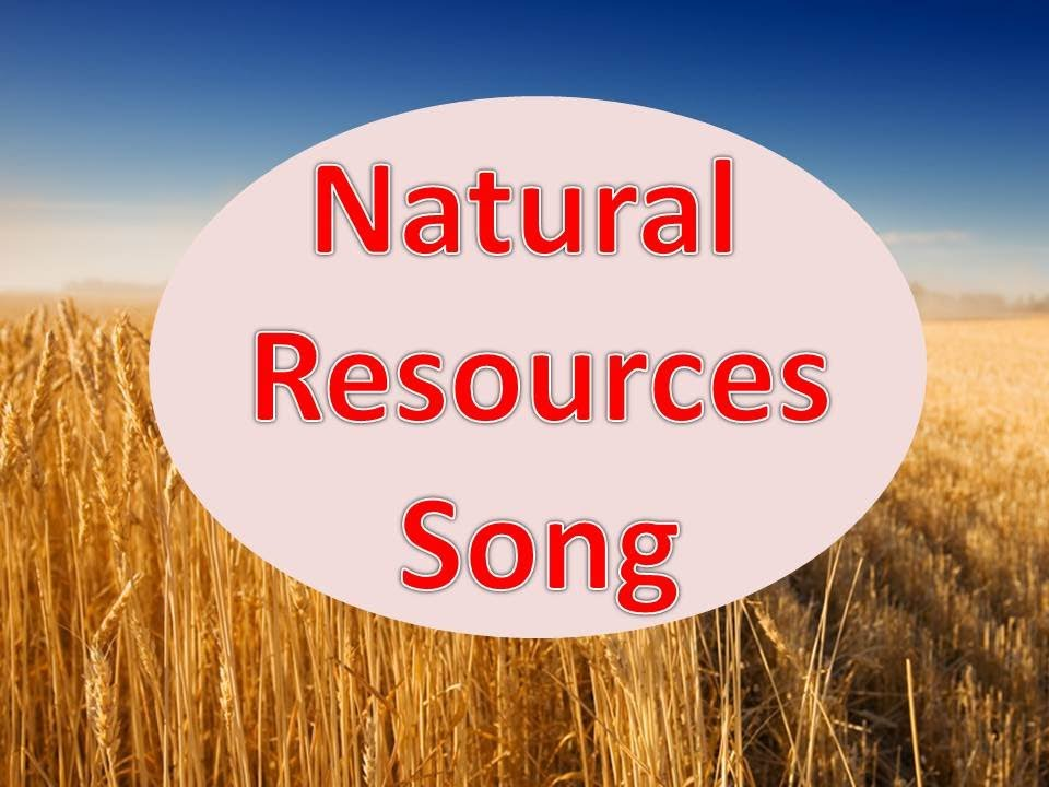 Natural Resources Song  YouTube