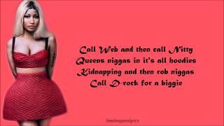 Nicki Minaj - Chiraq (Verse - Lyrics)