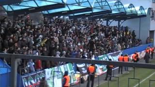 Львівські фанати на виїзді (матч Арсенал 2:2 Карпати)