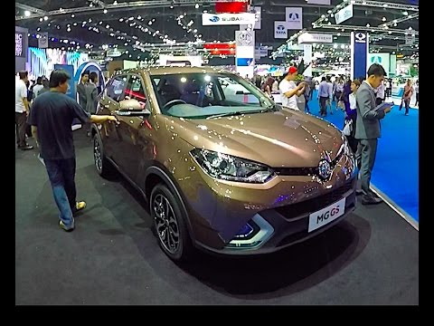 New 2017 Crossover MG GS 2018