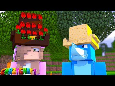 THE HAT CHALLENGE!  Crazy Craft   Minecraft Little Kelly Plays