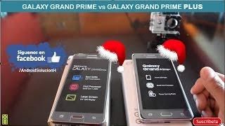 Galaxy Grand Prime vs Galaxy Grand Prime PLUS Comparativa