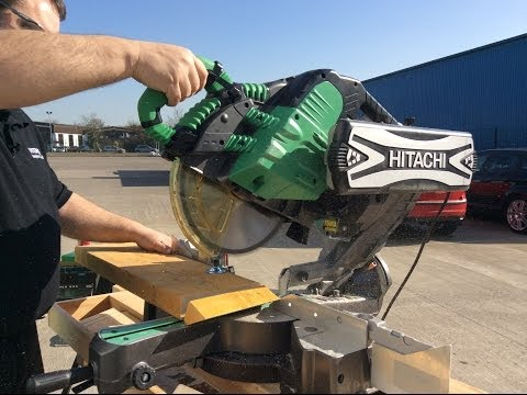 Hitachi C12RSH 305mm Slide Compound Mitre Saw From Toolstop