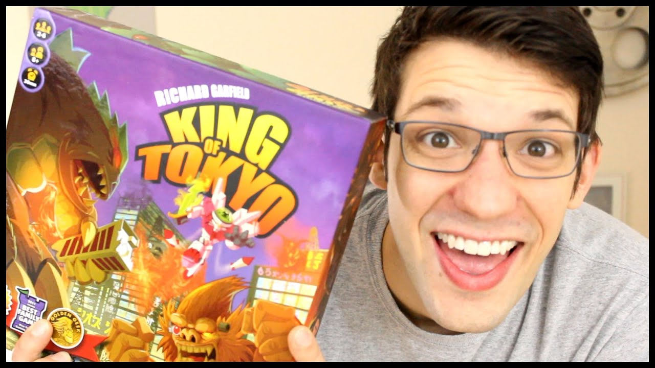IELLO King of Tokyo: New Edition Board Game - amazon.com