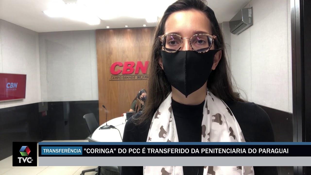 Coringa do PCC é transferido da penitenciaria do Paraguai