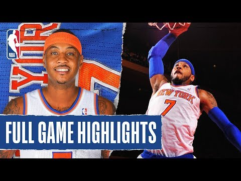 FULL GAME HIGHLIGHTS: Melo Goes For CAREER-HIGH 62 PTS With 13 REB!