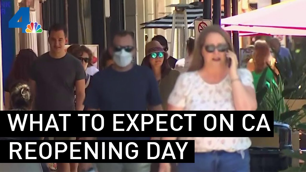 Reopening Day in California