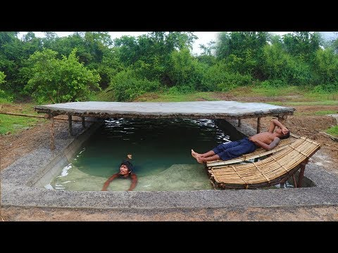 Build Summer Underground Swimming Pool