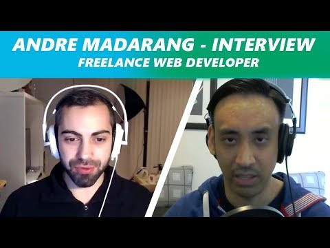 Interview with a Freelance Web Developer - Andre Madarang