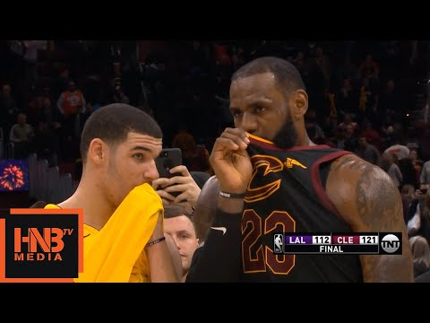 Download Youtube: LeBron James & Lonzo Ball Talking After The Game / Cavaliers vs Lakers