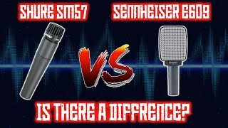 Shure SM57 vs Sennheiser E609 | The Ultimate Instrument Microphone Shootout!
