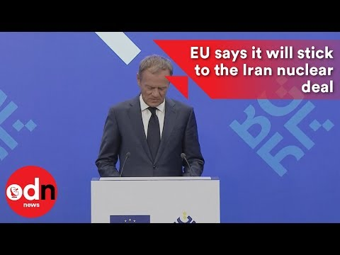 EU says it will stick to the Iran nuclear deal
