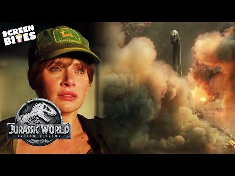 The End Of Jurassic Park | Jurassic World: Fallen Kingdom | SceneScreen